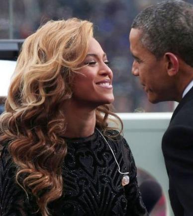 Beyonce Knowles & Barack Obama
