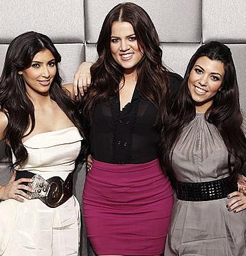Kim, Khloe & Kourtney Kardashian