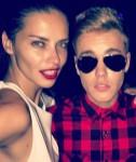 Adriana Lima & Justin Bieber