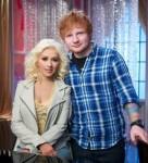 Christina Aguilera & Ed Sheeran (2013)
