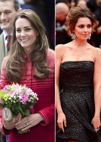 Kate Middleton / Cheryl Cole