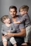 Ricky Martin su Matteo ir Valentino