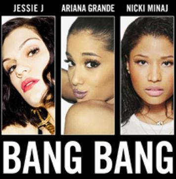 "Jessie J, Ariana Grande, Nicki Minaj ""Bang Bang"" CD"