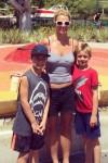 Britney Spears su Sean ir Jayden
