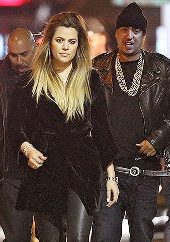 Khloé Kardashian & French Montana