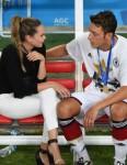 Mandy Capristo & Mesut Özil
