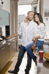 Tony Parker & Axelle Francine