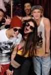 Justin Bieber, Selena Gomez (22) & Cody Simpson