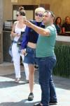 Miley Cyrus su gerbėju