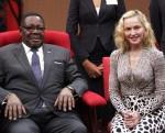 Peter Mutharika & Madonna