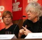 """Campino (""""Die Toten Hosen"""") & Bob Geldof"""
