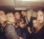 """Taylor Swift, Lily Aldridge, Karlie Kloss, Martha Hunt, & """"HAIM"""""""