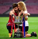 Gerard Piqué (28) & Shakira