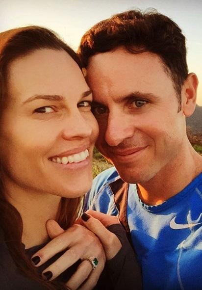 Hilary Swank & Ruben Torres