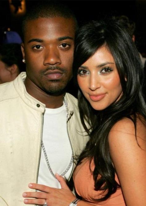 Ray J & Kim Kardashian