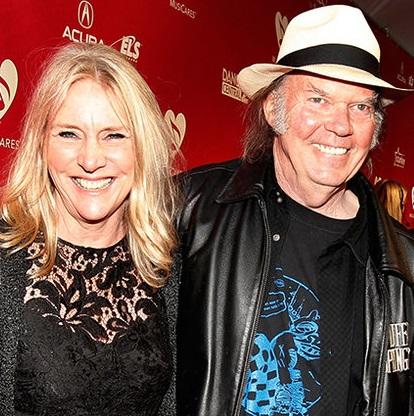 Pegi & Neil Young
