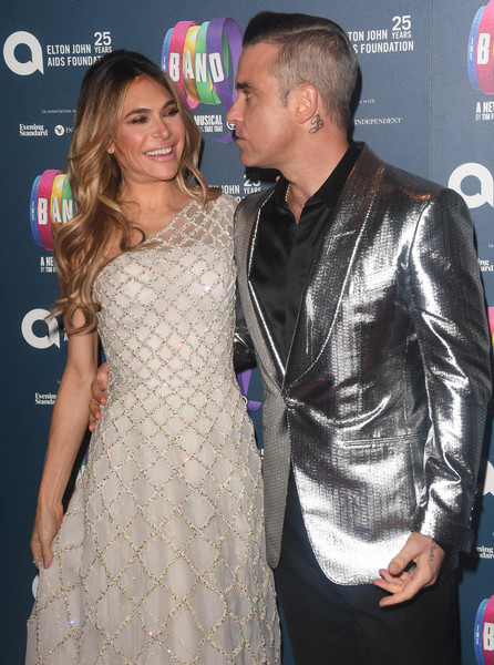 Ayda Field & Robbie Williams