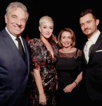 Paul Pelosi (78), Katy Perry, Nancy Pelosi (78) & Orlando Bloom