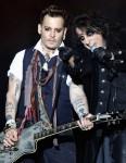 Johnny Depp & Alice Cooper