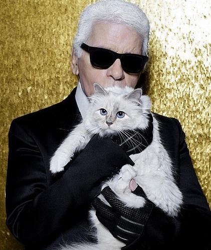 Karl Lagerfeld su Choupette