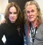 Ozzy Osbourne & Bernie Thormé