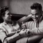 Ayda Field & Robbie Williams