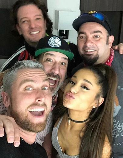 """'N Sync"" & Ariana Grande"