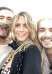 Tom Kaulitz, Heidi Klum & Bill Kaulitz