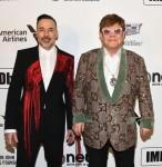 David Furnish & Elton John
