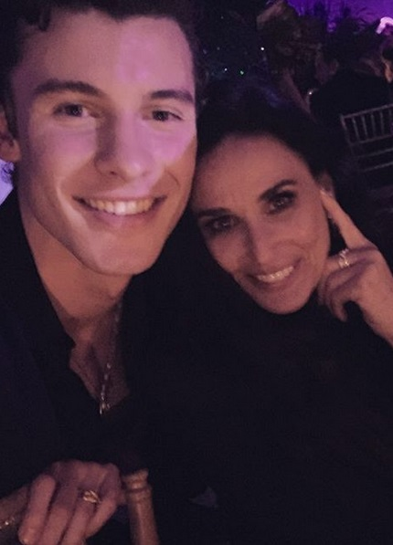Shawn Mendes & Demi Moore