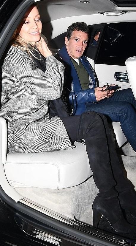 Nicole Kimpel & Antonio Banderas
