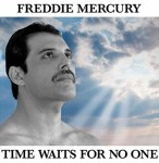 "Freddie Mercury ""Time Waits For No One"" CD"
