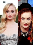Sophie Turner / Boy George