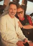 David Furnish (56) & Elton John