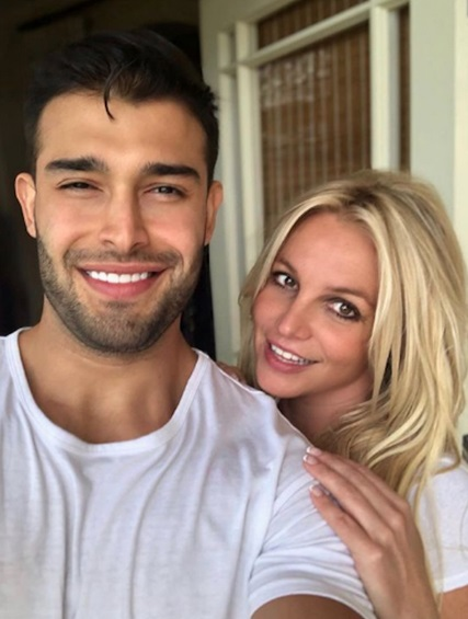 Sam Asghari & Britney Spears