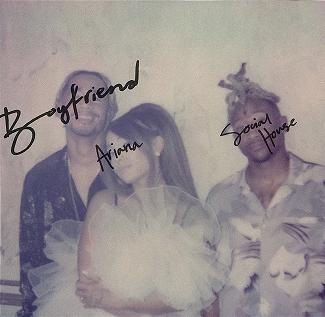 """Ariana Grande feat. Social House """"Boyfriend"""" (CD)"""