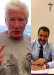 Richard Gere / Matteo Salvini