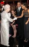 Elizabeth II, Robbie Williams & Alicia Keys