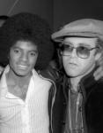 Michael Jackson & Elton John (1978 m. foto)