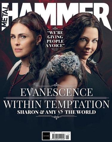 "Sharon den Adel (45, ""Within Temptation"") & Amy Lee (37, ""Evanescence"")"