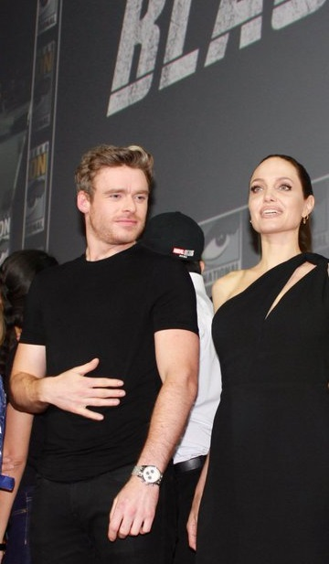 Richard Madden & Angelina Jolie