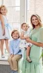 Madeleine su vaikais