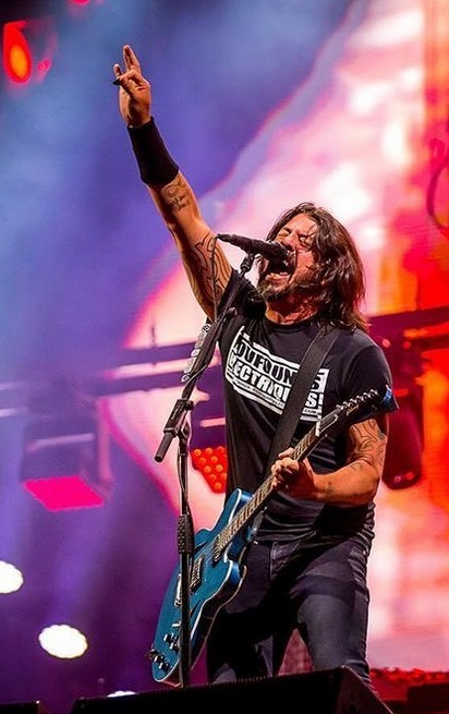 """Dave Grohl (""""Foo Fighters"""")"""