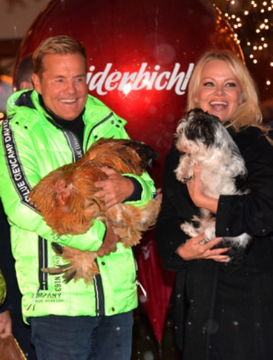 Dieter Bohlen (66) & Pamela Anderson