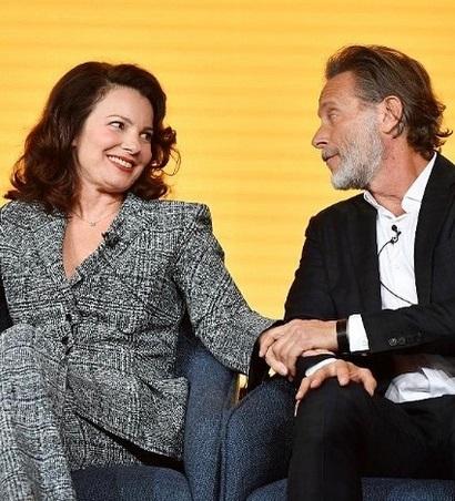 Fran Drescher & Peter Marc Jacobson