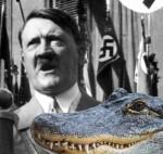 Adolf Hitler / Saturn (foto koliažas)