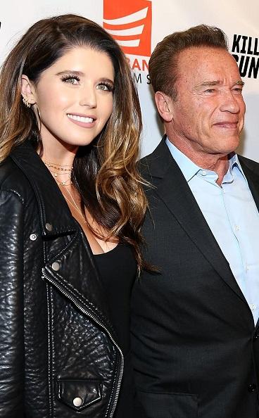 Katherine & Arnold Schwarzenegger