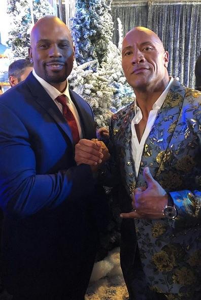 Shad Gaspard & Dwayne The Rock Johnson (48)