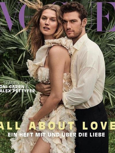 "Toni Garrn & Alex Pettyfer @ ""Vogue"""