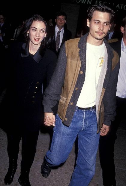 Winona Ryder & Johnny Depp (1989)